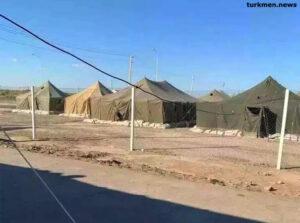 Хуже собак: Об условиях в карантинном лагере в Лебапе (фото)