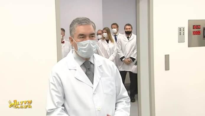 Бердымухамедов присвоил своему личному врачу звание «Народный врач Туркменистана»