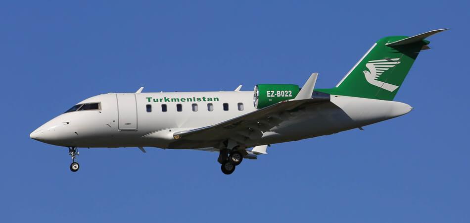 Туркменский правительственный самолет вновь полетит в Германию (обновлено)