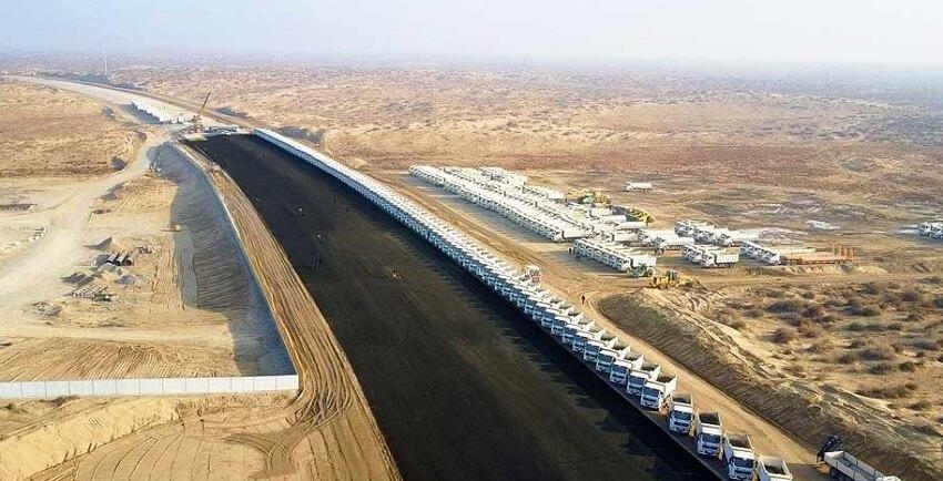 Строительство автобана Ашхабад — Туркменабад приостановили из-за нехватки денег