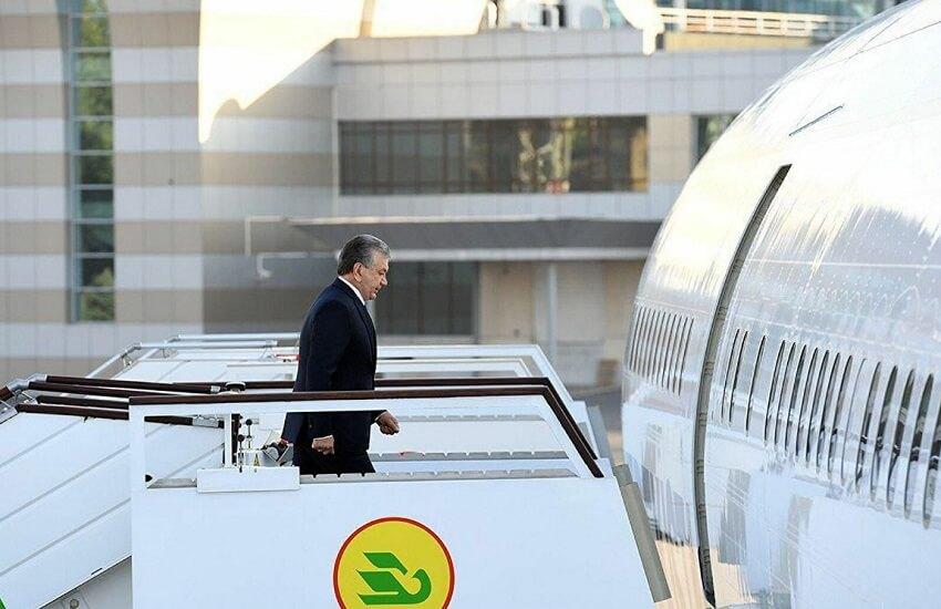Президент Узбекистана совершит визит в Туркменистан