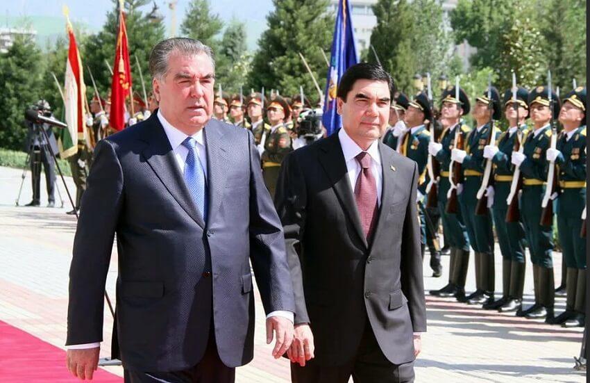 Бердымухамедов выразил соболезнования президенту Таджикистана в связи со смертью сестры