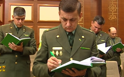 Министр обороны Туркменистана не понес наказания за гибель солдат в июльском ДТП