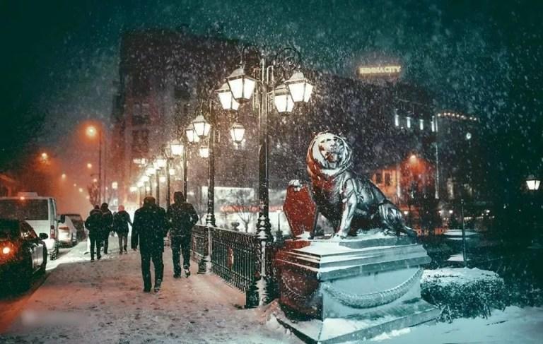 تعرّف على اسكي شهير في الشتاء مع مجموعة الصور