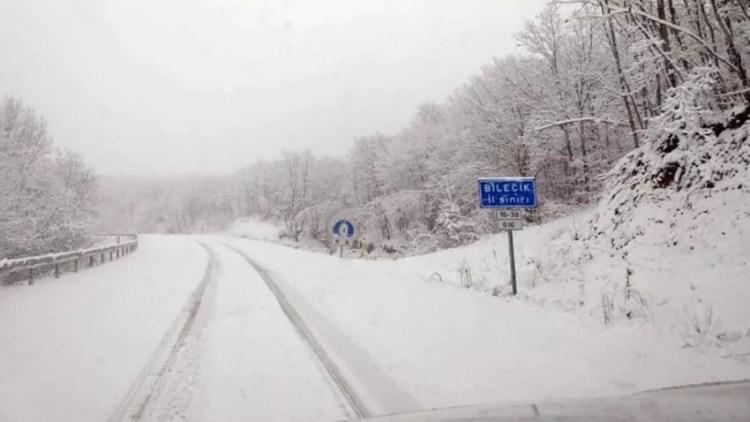 Биледжик зимой