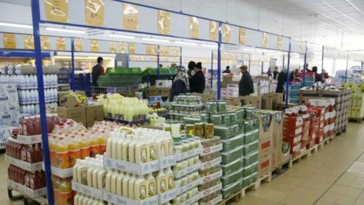 În interiorul pieței Bim