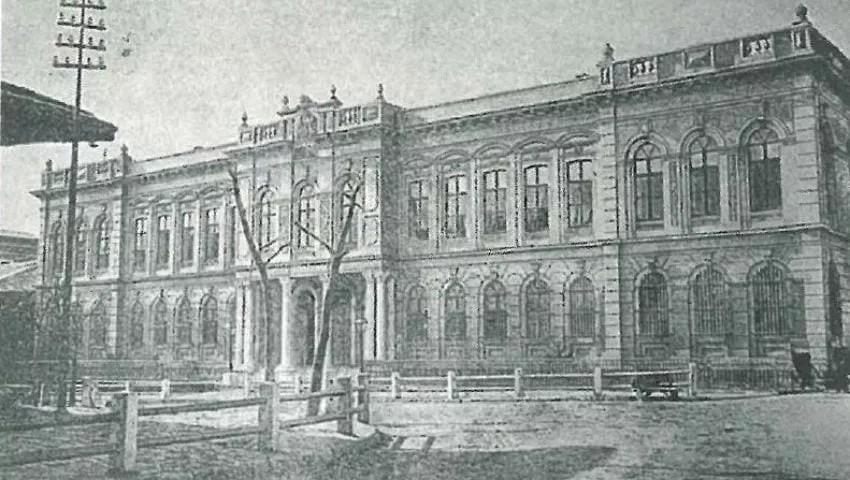 La poste turque à l'époque de l'Empire ottoman