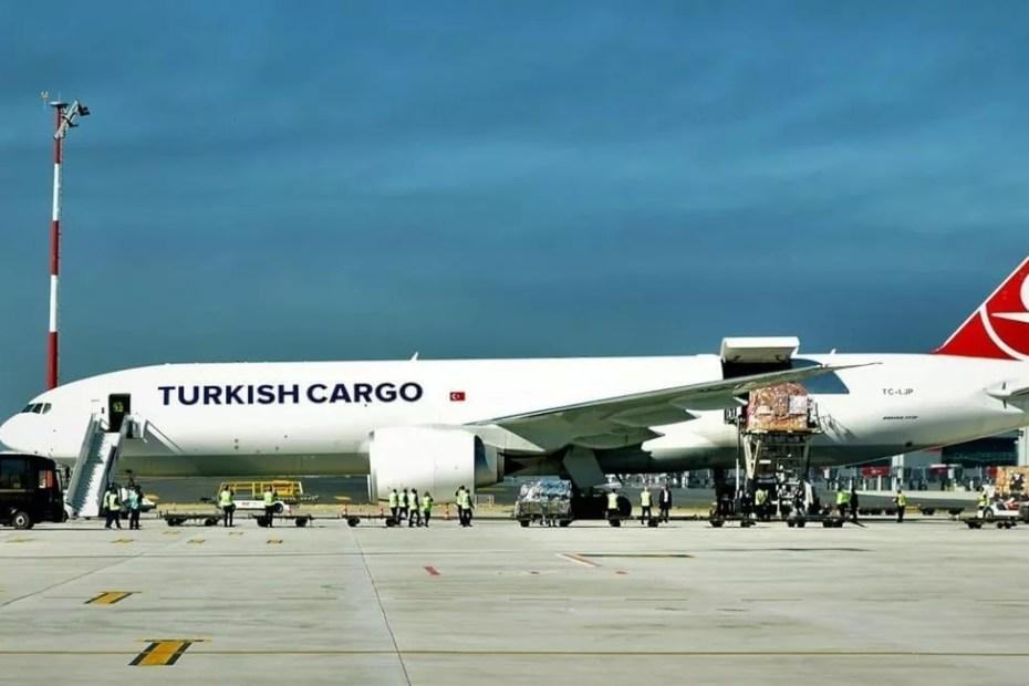 شركة شحن الخطوط الجوية التركية
