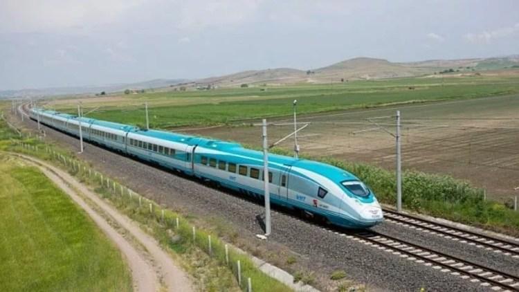 Trenul Eskisehir Ankara