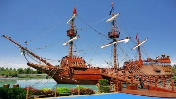 سفينة القرصان