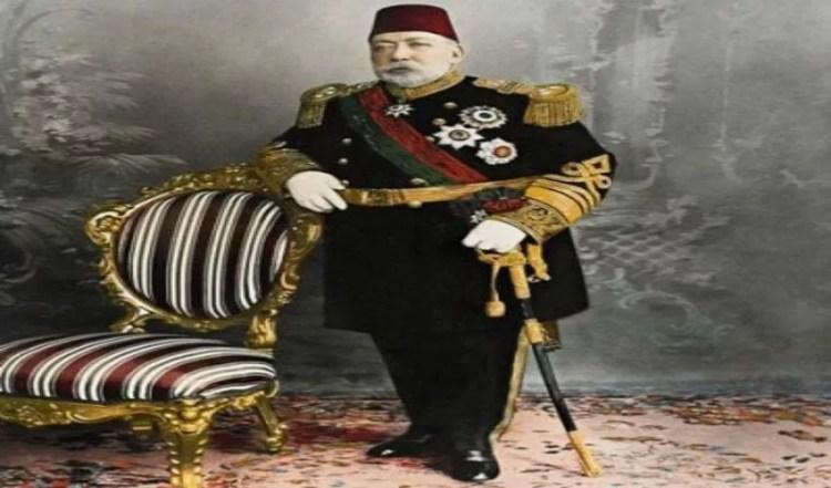 Sultan Mehmet V, de Ottomaanse sultan Muhammad Rashad