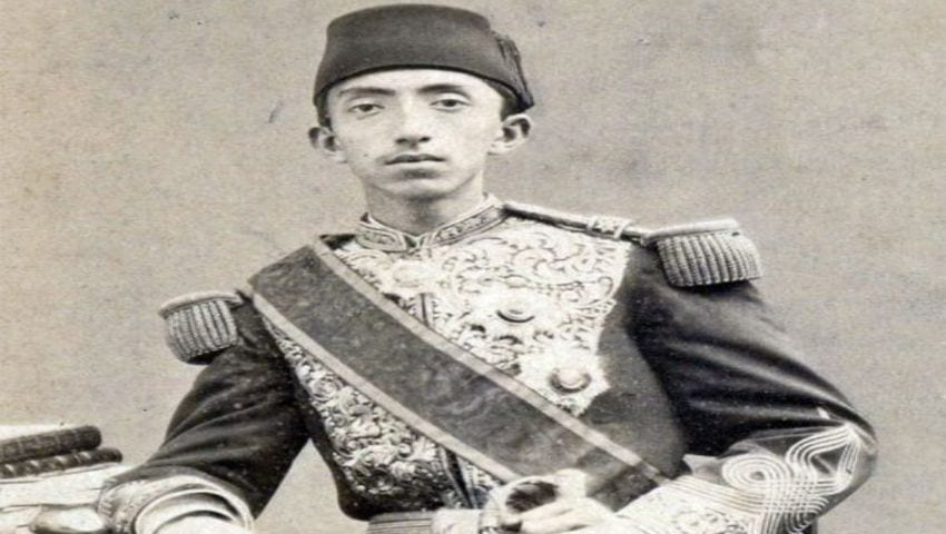 السلطان محمد السادس وحيد الدين في شبابه