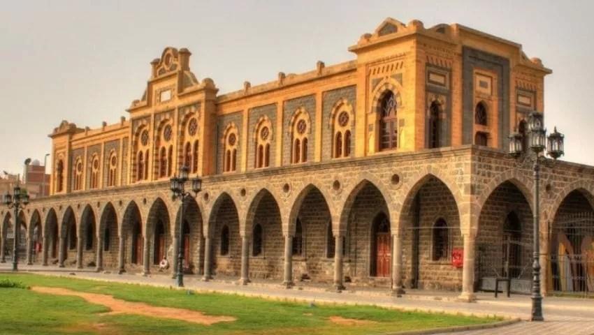 محطة المدينة المنورة سكة حديد الحجاز