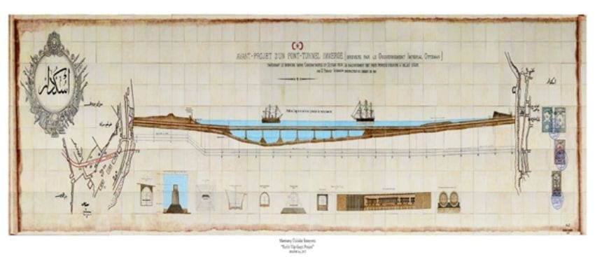 تاريخ مترو مرمراي اسطنبول