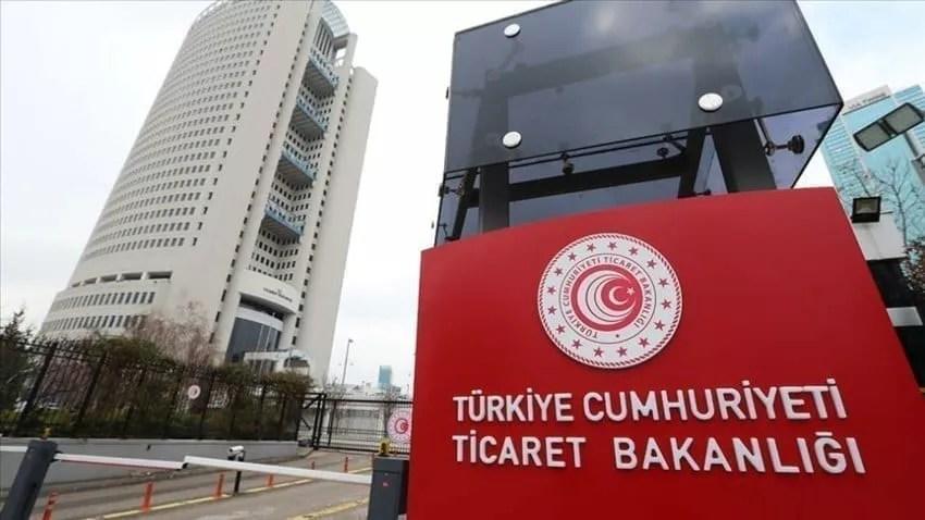 وزارة التجارة في تركيا