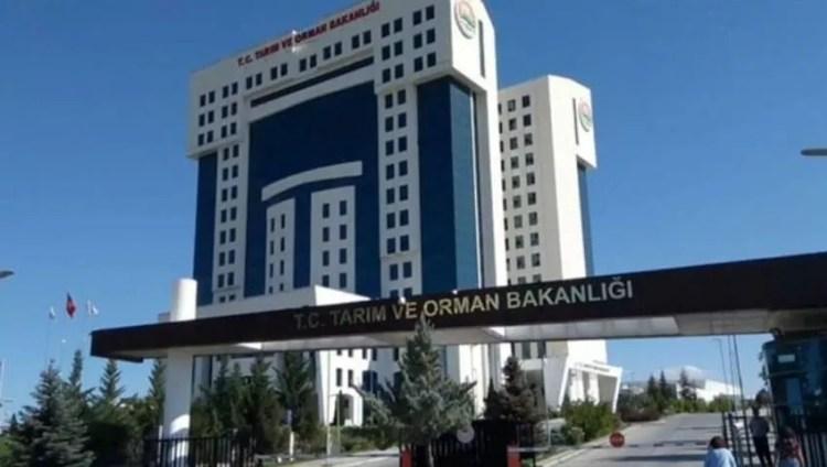 Ministère turc de l'agriculture