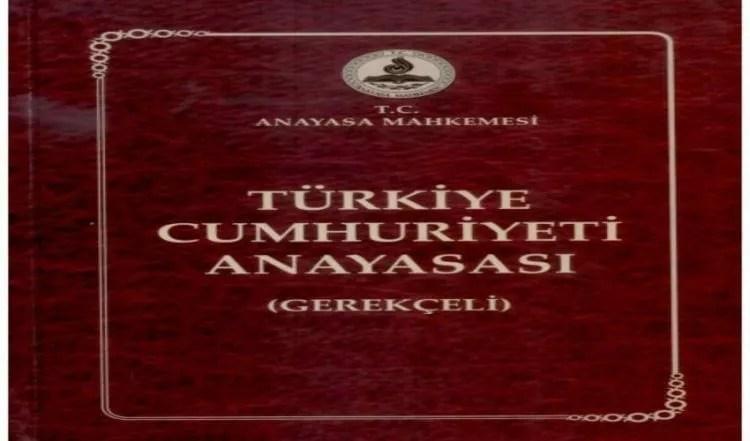 La costituzione Turca