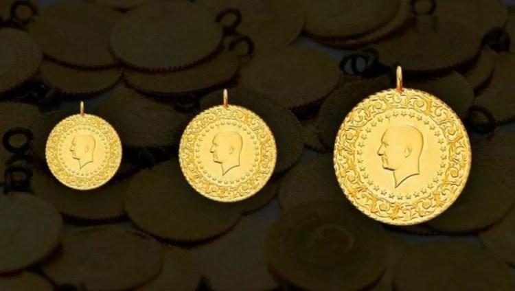Een halve Turkse gouden lira goud in Turkije