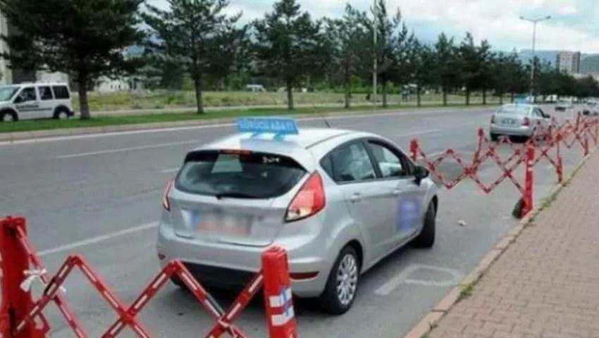 اختبار السياقة العملي في تركيا