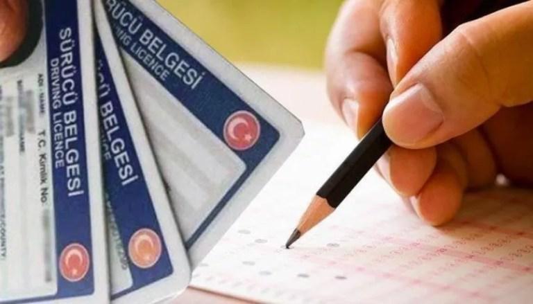 اختبار رخصة القيادة في تركيا