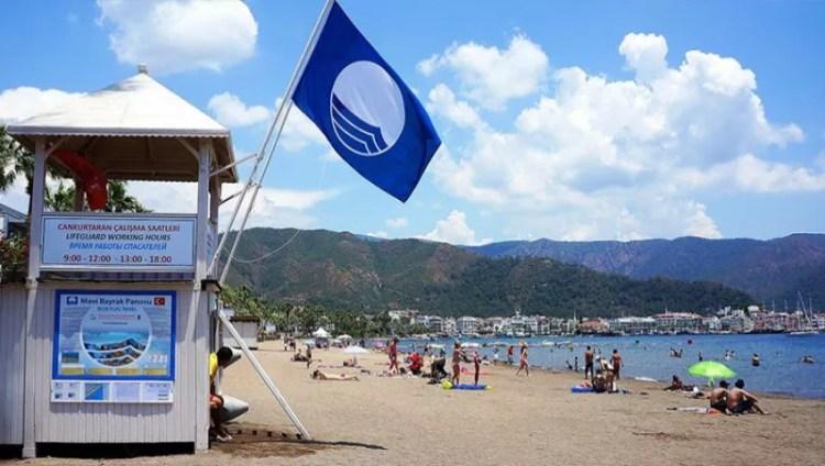 Blue Flag Beach Izmir Turkey 1