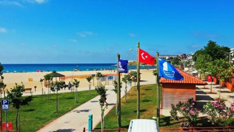 شواطئ العلم الأزرق تركيا
