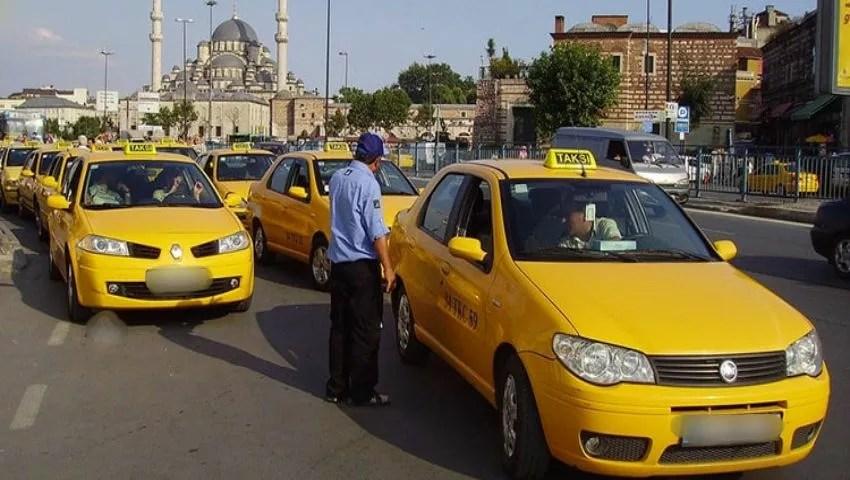 Taxi in Turkey 1 1