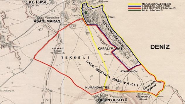 Kıbrıs'taki arazilerin yüzde 30'u Osmanlı mirası