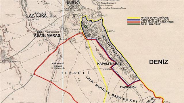 Kıbrıs'taki arazilerin  % 30'u Osmanlı mirası