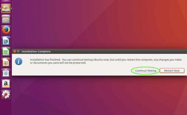 ubuntu_continue_testing