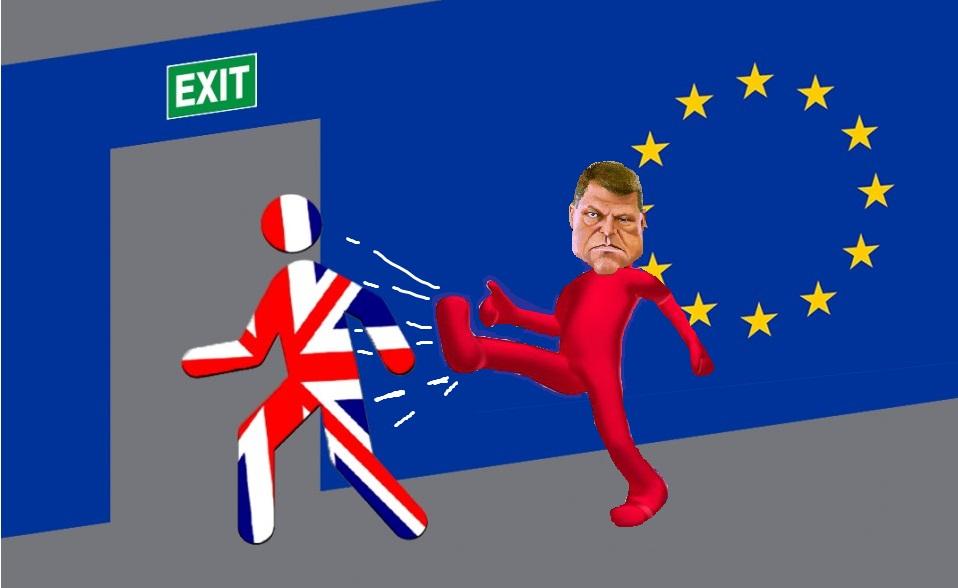 După mutarea steagului Marii Britanii, Iohannis vrea să lărgească și Canalul Mânecii