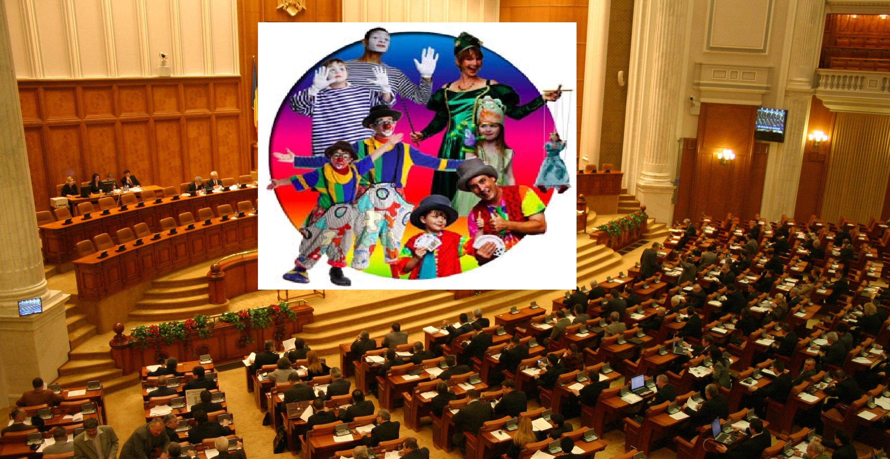 Circ solemn în Parlament