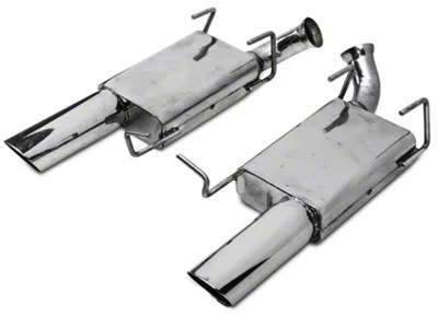 mac axle back exhaust w non rolled tips 11 14 gt