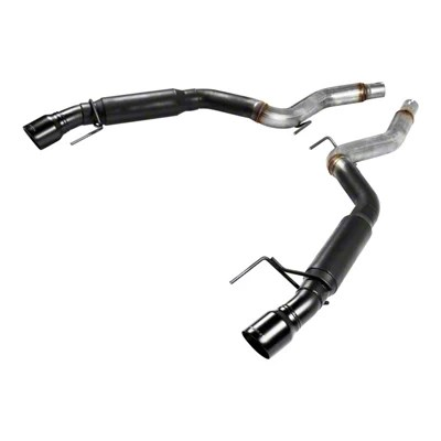 flowmaster outlaw axle back exhaust with black tips 15 17 gt