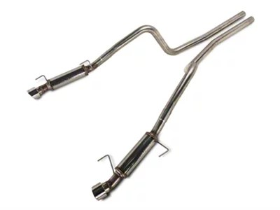 magnaflow competition series cat back exhaust with polished tips 05 09 gt gt500