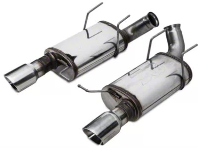 magnaflow street series axle back exhaust with polished tips 13 14 gt