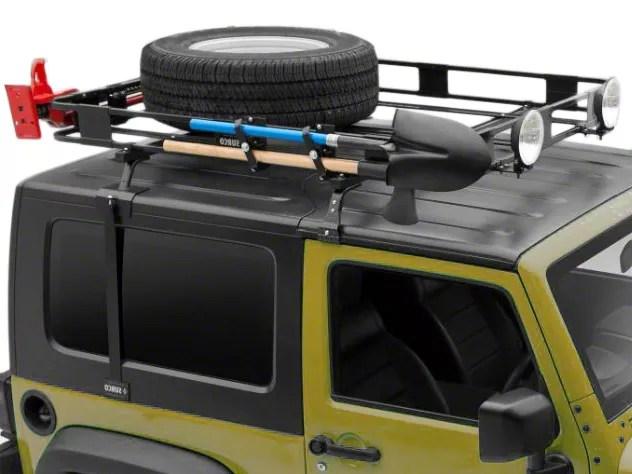 surco safari removable hard top rack with basket 97 06 jeep wrangler tj