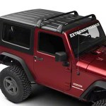 Rhino Rack Jeep Wrangler Vortex Sg 2 Bar Roof Rack Black Sg60 07 21 Jeep Wrangler Jk Jl 2 Door