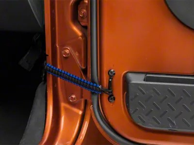 RedRock 4x4 Jeep Wrangler Front Paracord Door Limit Straps