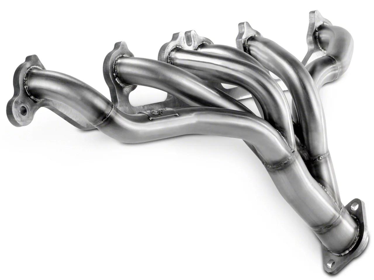 afe twisted steel shorty header 91 99 4 0l jeep wrangler yj tj