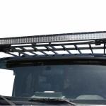 Garvin Jeep Wrangler 50 Inch Light Bar Mount Bracket For 4 Inch High Expedition Roof Rack 88050 87 21 Jeep Wrangler Yj Tj Jk Jl