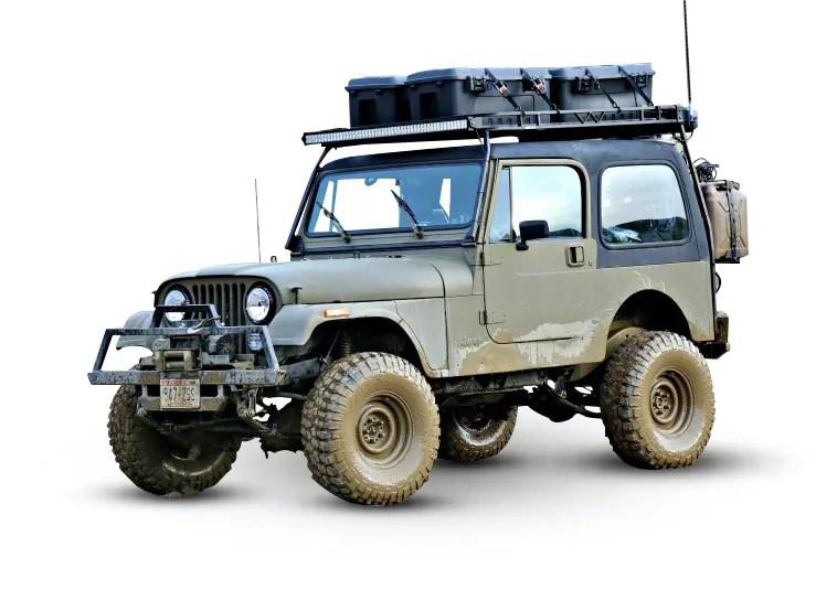 garvin expedition rack 87 95 jeep wrangler yj