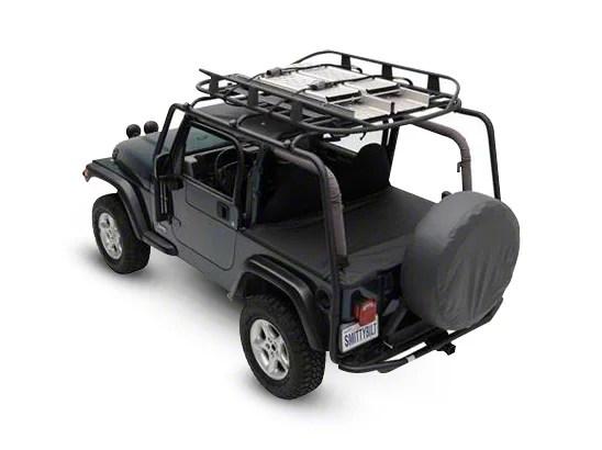 smittybilt src roof rack 07 18 jeep wrangler jk 2 door