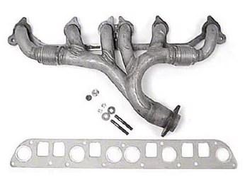 exhaust manifold kit 91 99 4 0l jeep wrangler yj tj