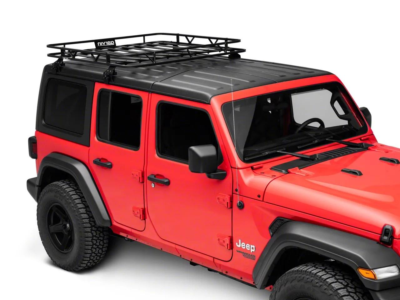 garvin cargo rack 18 21 jeep wrangler jl 4 door