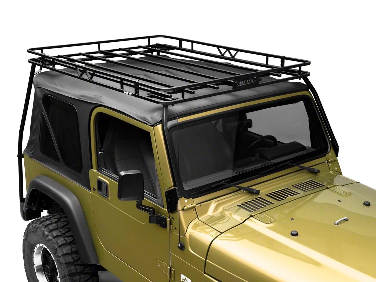 garvin expedition rack 97 06 jeep wrangler tj excluding unlimited