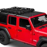 Rugged Ridge Jeep Wrangler Hard Top Roof Rack 11703 04 18 21 Jeep Wrangler Jl 4 Door