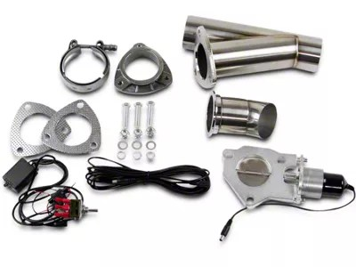 granatelli motor sports electronic exhaust cutout system 2 50 inch universal fitment
