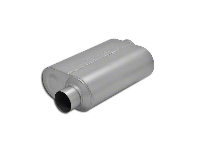 flowmaster super 40 series offset offset oval muffler 3 inch universal fitment