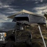 Overland Vehicle Systems Tundra Nomadic 4 Extended Roof Top Tent With Annex Gray 18041936 Universal Fitment